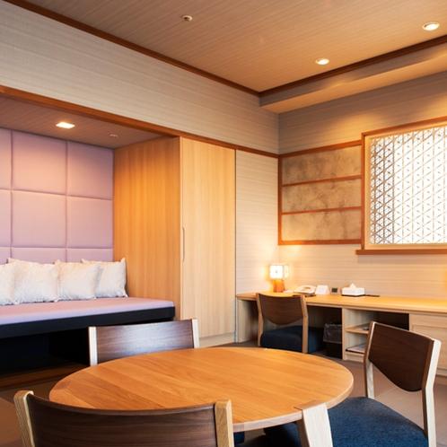 【和室】10畳 釧路川を一望できるお部屋です
