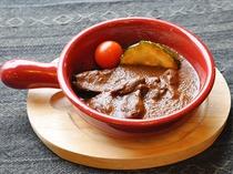 【夕食】鹿肉のシチュー