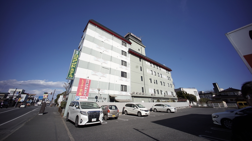 【外観】館林グランドホテルへようこそ!