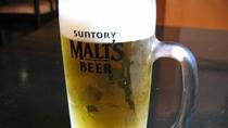 【生ビール】夏場の暑さが厳しい館林では、冷えた生ビールは格別です!