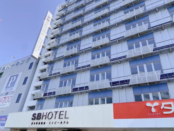浜の町病院前S.Bホテル(旧:北天神エスビーホテル)