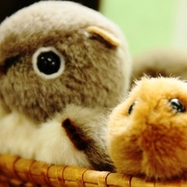 【十輪堂】動物のぬいぐるみです。かわいい♪