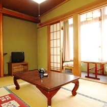 【和室6畳】和室6畳のお部屋のイメージです。