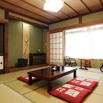 【和室8畳】和室8畳のお部屋のイメージです。
