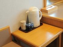 【客室備品】お茶セット