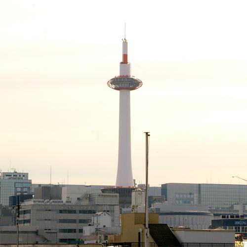 ■窓から京都タワー■