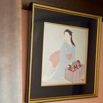 ▼【和室一例】どのお部屋にもちょっと目を引く装飾を。