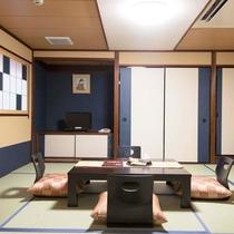 ▼【和室13畳(一例)】少しだけモダンな雰囲気を取り入れた和室