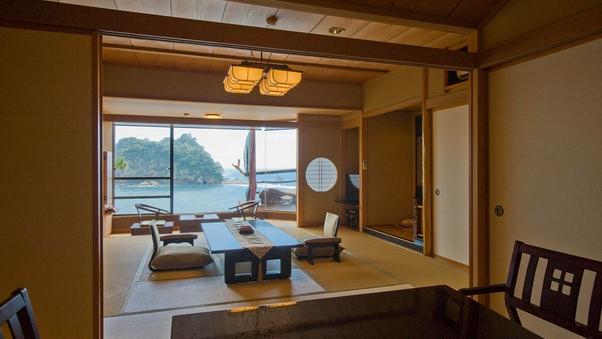 【海の絶景】和室12.5畳+6畳+広縁(ジュニアスイート)