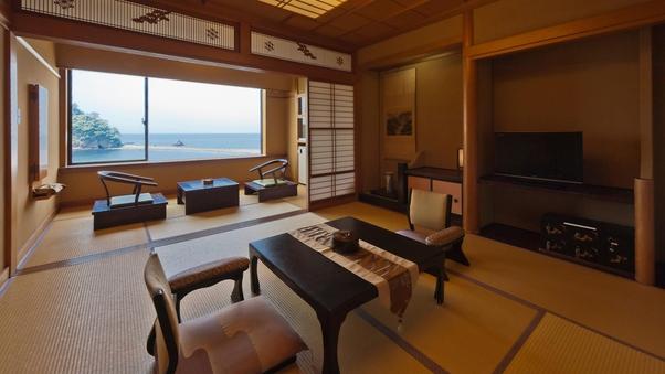 【海の絶景】和室12畳+踏込+広縁(スタンダード12畳)