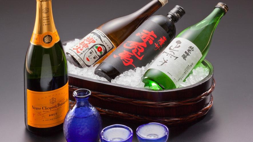 ■清流セレクションの酒類は人気酒をはじめ静岡ならではの自慢のお酒が揃っている