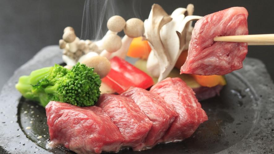 信州牛石焼ステーキ