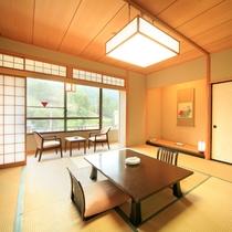 和室<広縁付>横湯川側客室
