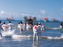 海を渡る祭礼