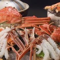 夫婦蟹かに鍋焼き蟹