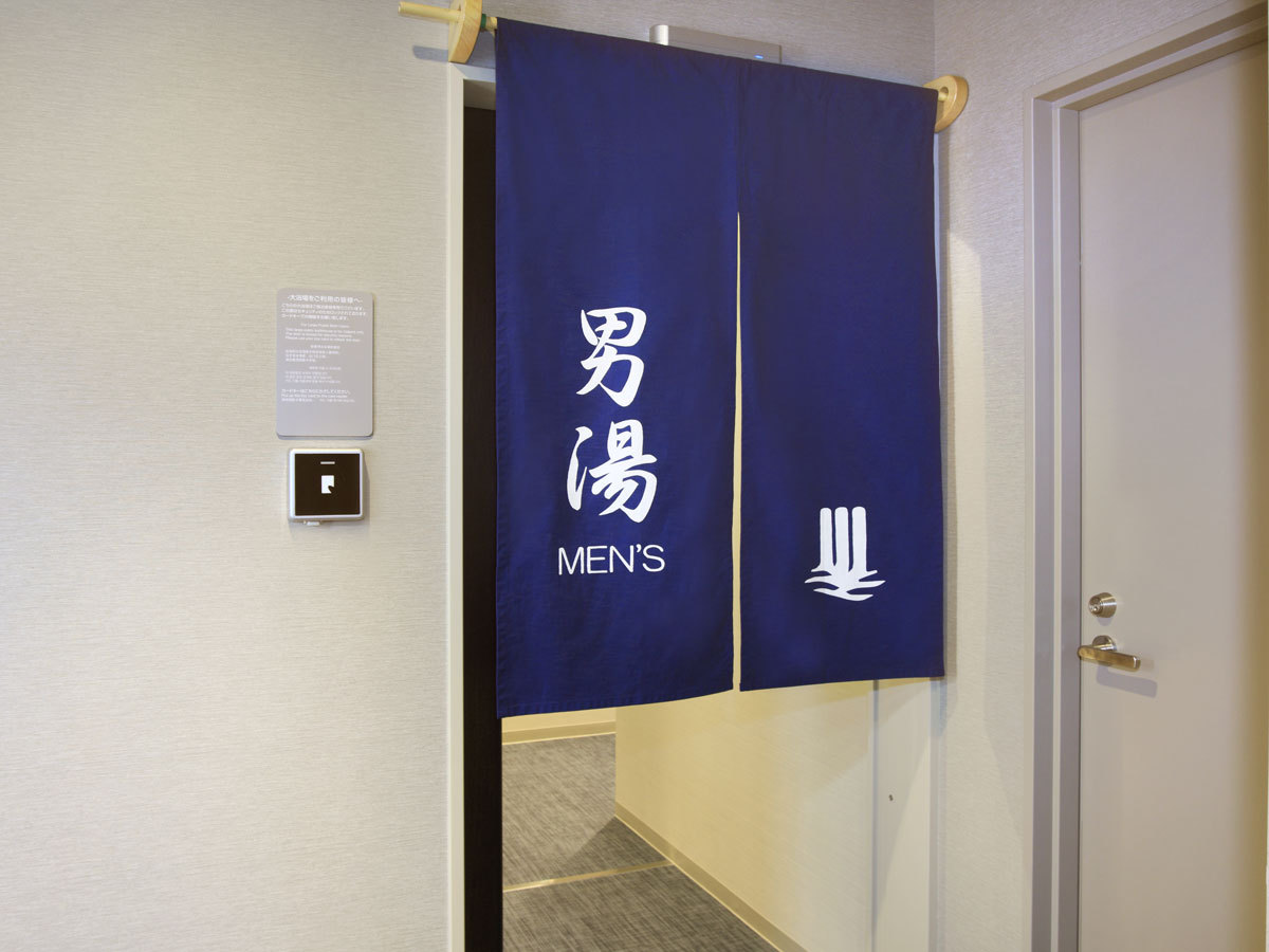 男性大浴場入り口