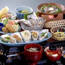 的矢かき味覚料理