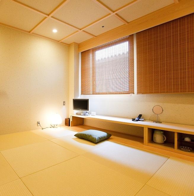 【リニューアル和室】モダンに生まれ変わった和室。当館人気のお部屋タイプです!