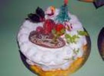 クリスマスのペアケーキ