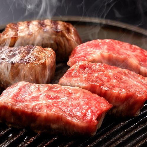 """お肉はがっつり""""熱・厚""""で!旨みぎっしり山形牛をそのまま感じる『焼き』の調理で♪"""