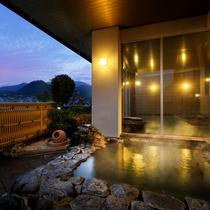 眺望の湯露天風呂『そよ風』