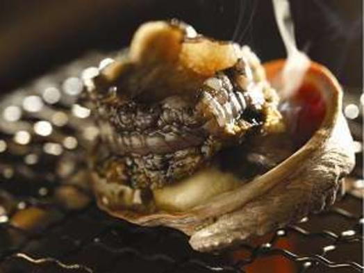 伊豆の海鮮得々プラン(夕朝食個室♪地魚盛り、金目の姿煮付、アワビ踊り焼き、伊勢海老鬼がら焼き、他)