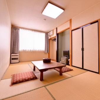 寛ぎの空間にて過ごす。「別館和室6畳〜12畳」
