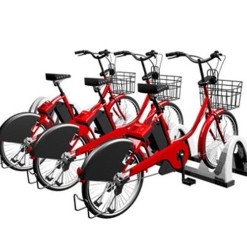 自転車シェアリングサービスはじめました!