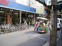 当館より徒歩2分のコトデン片原町駅