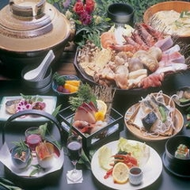 海鮮寄せ鍋会席