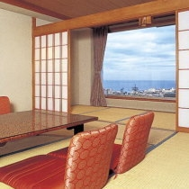 5名定員海側和室一例
