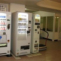 自動販売機と喫煙所