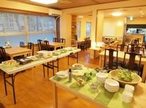 朝食 バイキング例 会場 (Breakfast Mini-Buffet Style,exa)