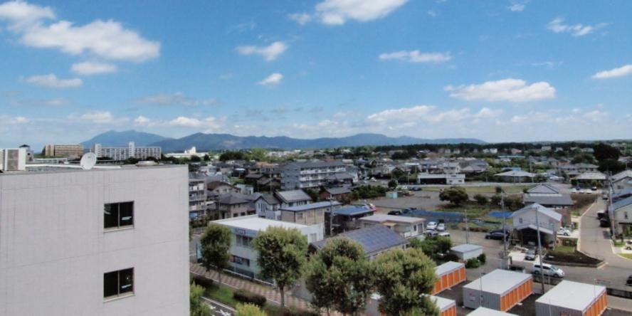 北東方面(NorthEast) 筑波山(Mt Tsukuba)