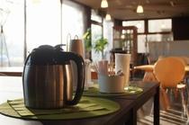 モーニングコーヒーサービス 多目的ロビーにて (Free Morning Coffee)