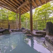 ■初夏の露天風呂