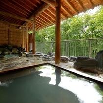 露天風呂・檜風呂