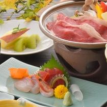 ■限定プラン!「牛陶板焼きがメインの和食膳」(ご夕食内容一例)