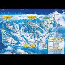 菅平高原スキー場(ゲレンデ案内図)
