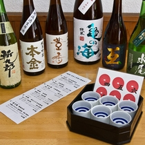 【厳選】信州の地酒6蔵飲み比べ♪