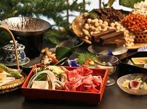 夕食「信州山里料理」(イメージ)