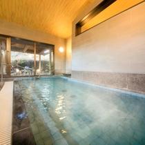 【女性大浴場】上質な温泉を愉しむ広々内湯