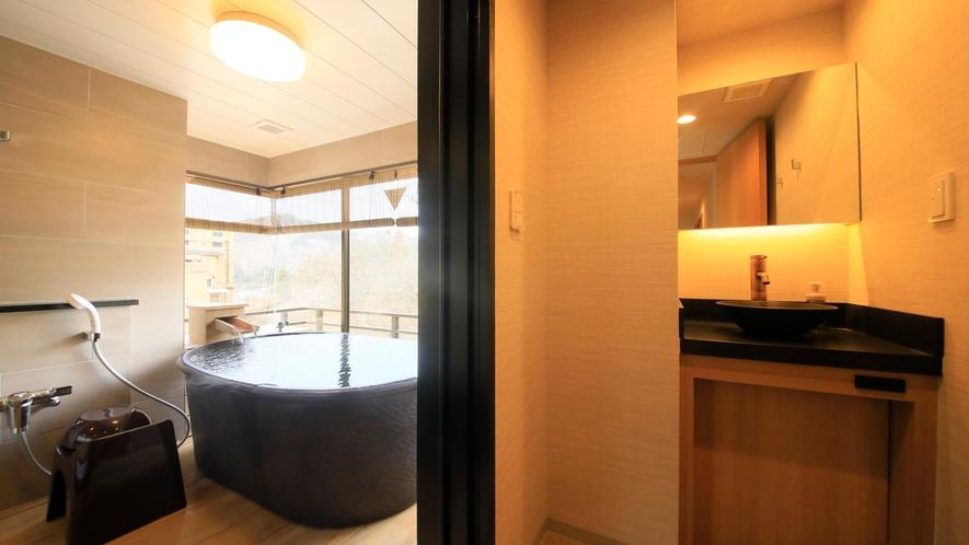 温泉展望風呂付客室