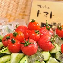 フレッシュミニトマト(朝食バイキング一例)