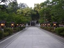 勝負運のパワスポ『武田神社』
