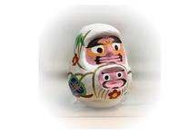 こちらも山梨の伝統工芸品『甲州ダルマ』フロントにてご購入いただけます!