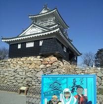 浜松城 記念写真スポット