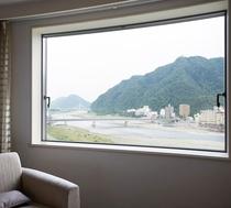 【客室眺望】リバービューツインからの眺め