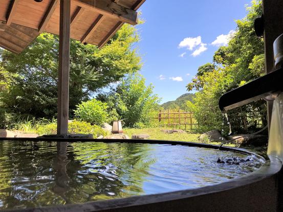 【露天風呂】女風呂露天からの風景。