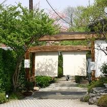 【館内】別館・囲炉里庵花水木の入口